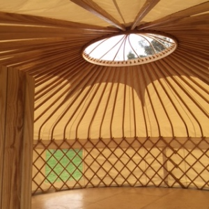 The Riverside Yurt